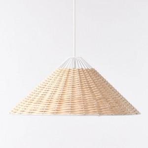 STRAW white pendant lamp