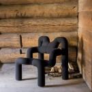 EKSTREM armchair - Black