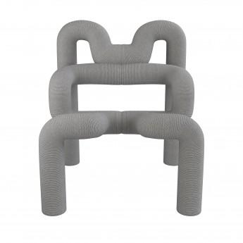 EKSTREM armchair - grey violet