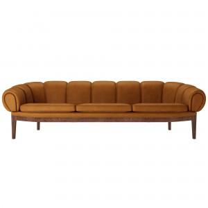 Sofa Croissant - Walnut