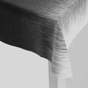 PEN grey tablecloth