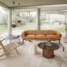 Sofa Croissant - Oak oiled