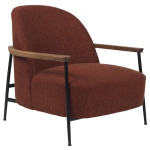 Lounge chair Sejour - With oak armrest