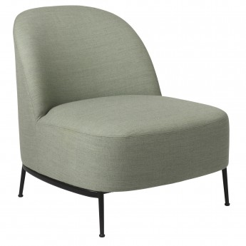 Chaise lounge Sejour - Sans accoudoir pieds noirs
