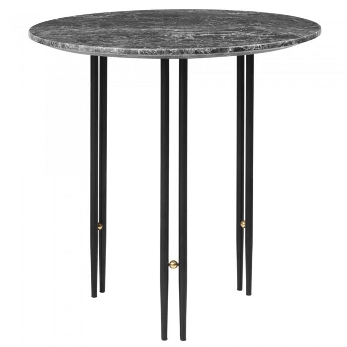 IOI coffee table Ø50 - Black matt base