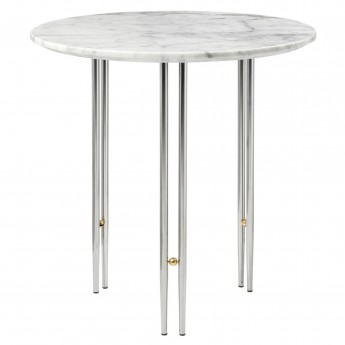 IOI coffee table Ø50 - Chrome base