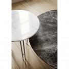 IOI coffee table Ø70 - Black matt base
