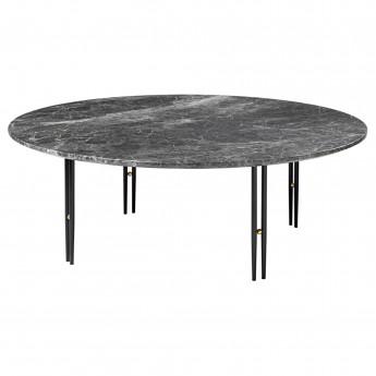 Table basse IOI Ø70 - Pieds noir mat