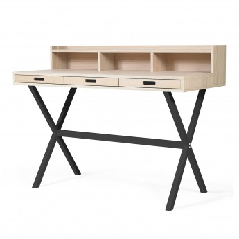HYPPOLITE Desk - Oak