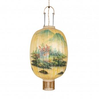 Traditional lantern landscape