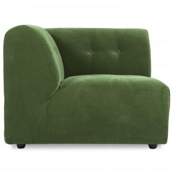 Module VINT Left - Royal velvet green