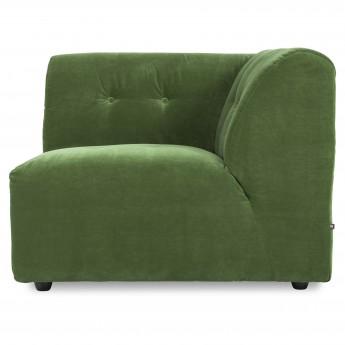Module VINT Droit - Royal velvet green