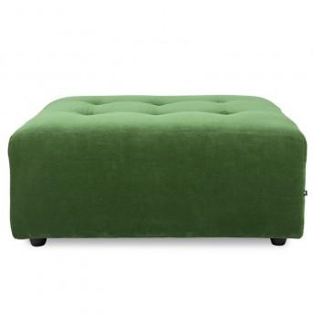 Module VINT Pouf - Royal velvet green