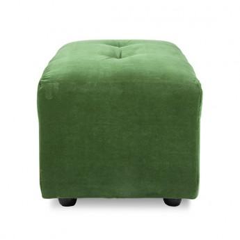 Module VINT Pouf S - Royal velvet green