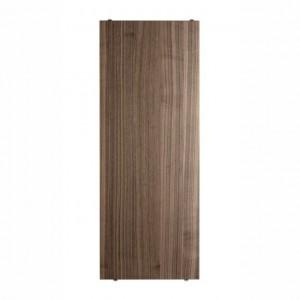 ETAGERES en bois / Système STRING 58 x 30 cm - Noyer