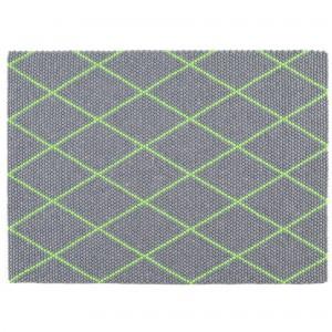 DOT Carpet Electric green