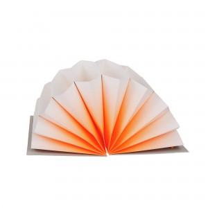 Trieur PLISSÉ orange S