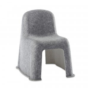 Chaise LITTLE NOBODY gris
