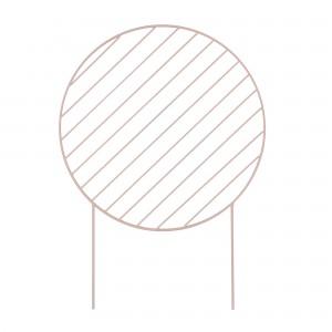 Tuteur pour plantes circulaire