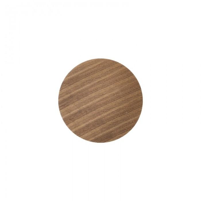 WIRE basket top smoked oak