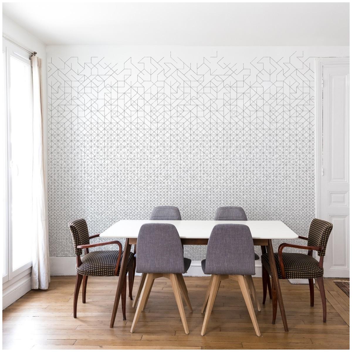 papier peint modular bien fait. Black Bedroom Furniture Sets. Home Design Ideas