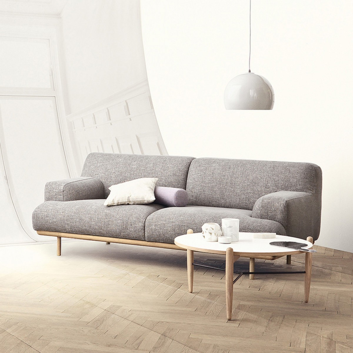 Madison sofa 2 seats 1 2 bolia for Sofa gebraucht