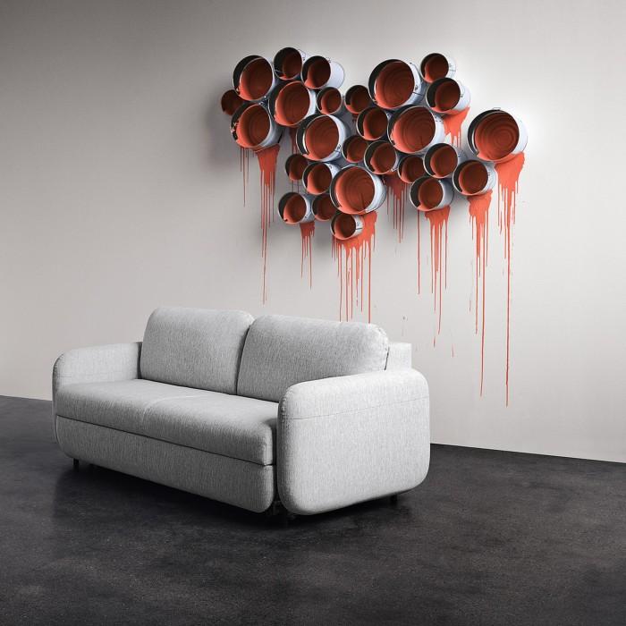 Superb FLUFFY 3 Seater Sofa   BOLIA