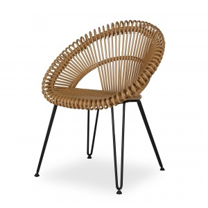 CURLY natural chair
