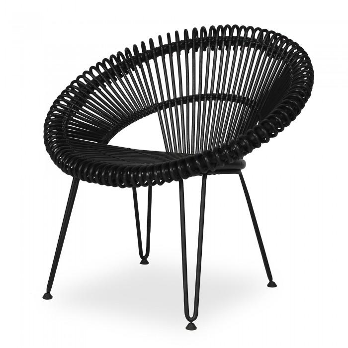 CRUZ black armchair