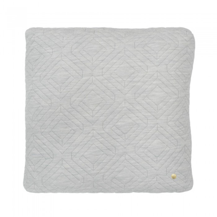 QUILT grey Cushion