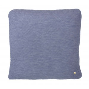 QUILT light blue Cushion