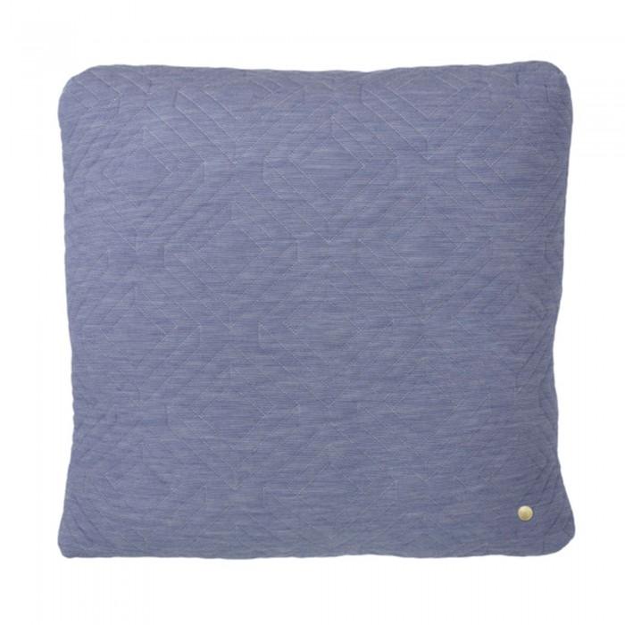 QUILT light blue Cushion