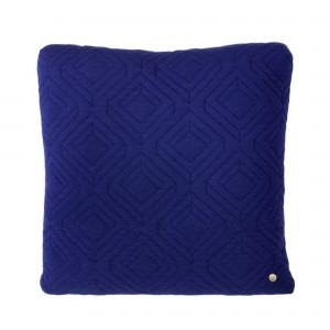 QUILT dark blue Cushion