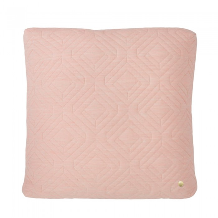 Coussin QUILT rose