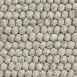 Tapis PEAS gris mélangé clair