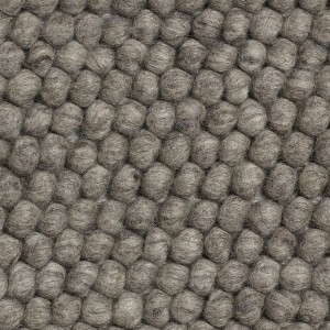 PEAS rugs dark grey