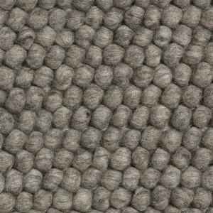Tapis PEAS gris mélangé foncé