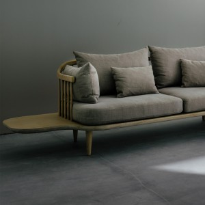 Sofa FLY à tablettes