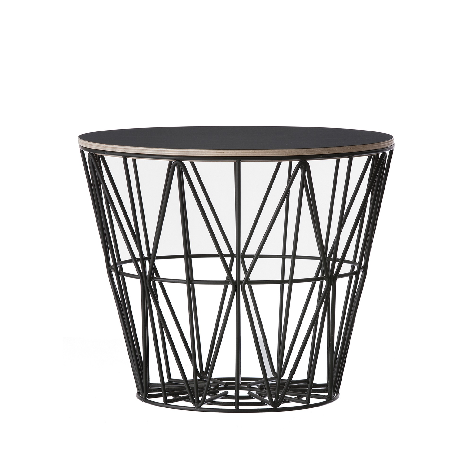 WIRE M Basket In Colored Metal Wire   FERM LIVING