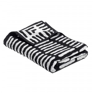 HE SHE IT Black Towel