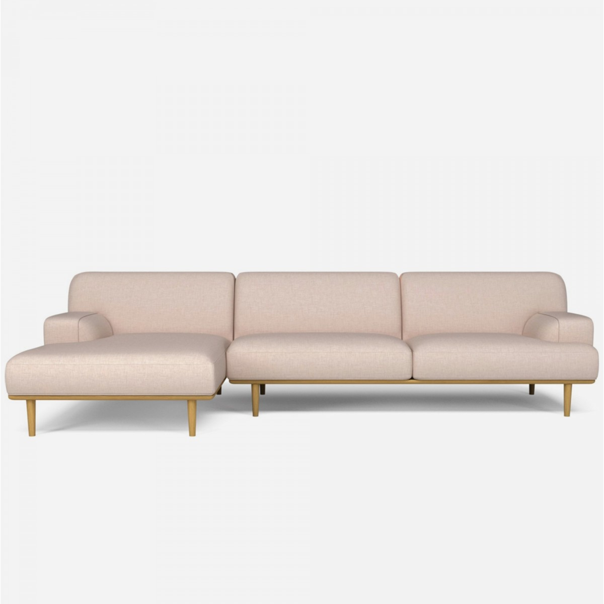 Madison with chaise longue bolia for Chaise longue sofa