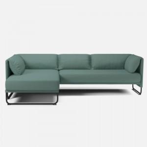 Canapé MARA 3 places avec chaise longue