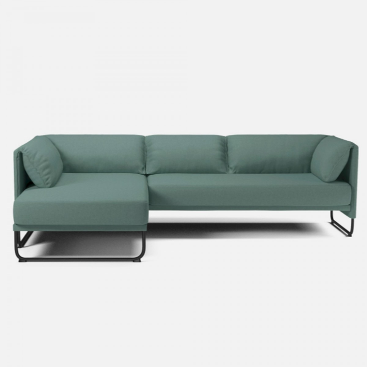 canap mara 3 places avec chaise longue bolia. Black Bedroom Furniture Sets. Home Design Ideas