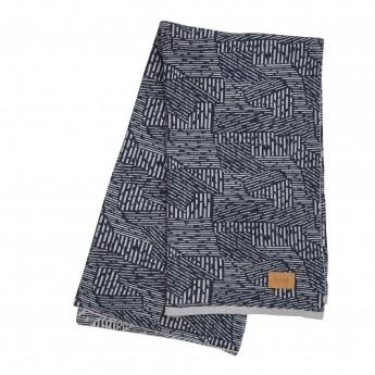 MAZE blanket - Blue