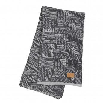 MAZE blanket - Grey