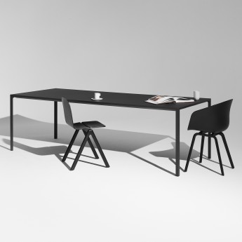 HAY table - Black