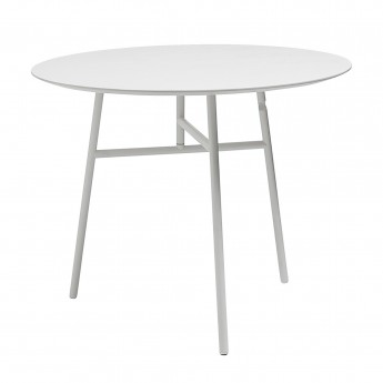 White TILT TOP table