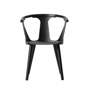 IN BETWEEN chair black stained ash